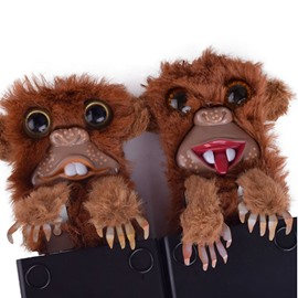 Funny Monkey Furry Pop Up Surprise Christmas Prank Toy Present Gift