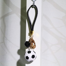 World Cup Theme Plastic Material Football Shape Small Pendant