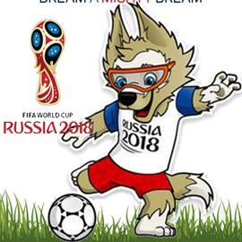 World Cup Theme Cotton Material Short Plush Animal Pattern Mascot Doll