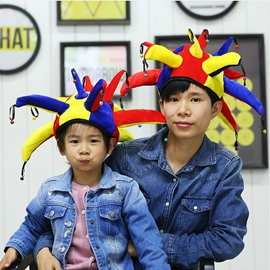 World Cup Theme Cloth Material Four Choices Suitable for Adults and Children Creative Hats