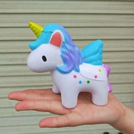 Unicorn Anti Stress Release Pressure Slow Rebound Cartoon Squishy Toy