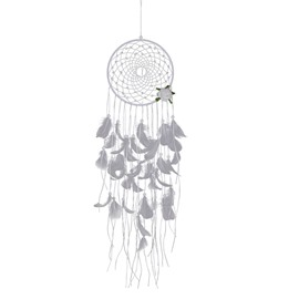 Sweet Girlish Style White Dreamcatcher Aeolian Bells Home Decoration