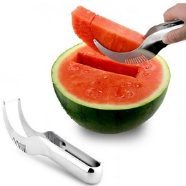 Convenient Stainless Watermelon Cut Honeydew Slicer