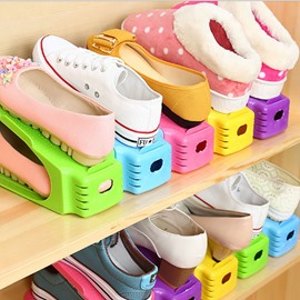 Shoe Slots Organizer Space Save Rack Holder Set of 8