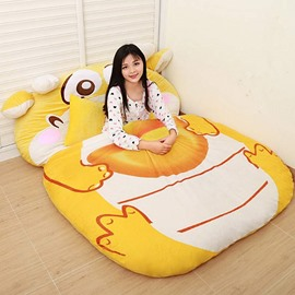 Super Soft Cute Cartoon Dragon Design Lazy Sofa Tatami Seat
