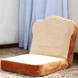 Creative Toast Bread Design Multicolor Option Lazy Sofa Tatami Seat