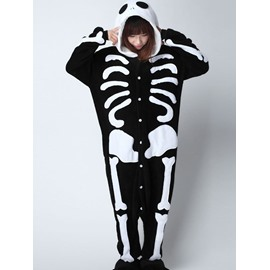 Skull Cosplay Costume for Women&Men Adult Pajamas