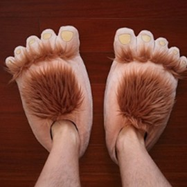 The Hobbit Feet Fashion Idea Special Shape Warm Winter Slipper