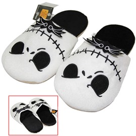 Halloween Skull Winter Warm Fleece Slipper