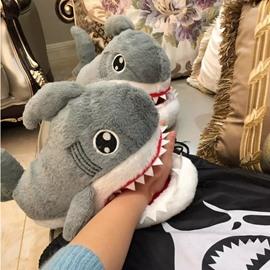 Nonslip Cartoon Small Shark Indoor Slipper Couples Fashion Popular