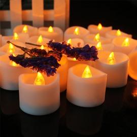Flameless Flashing Battery Operated LED Candle Light
