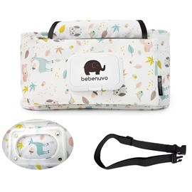 Durable And Portable Cartoon Designed Canvas Baby Carriage Bag