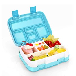 Leak-Proof BPA-Free Versatile 5-Compartment Bento-Style Lunch Box