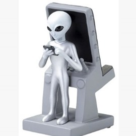 Polar Bear E.T. for Tablets and Smartphones Cell Phone Holder
