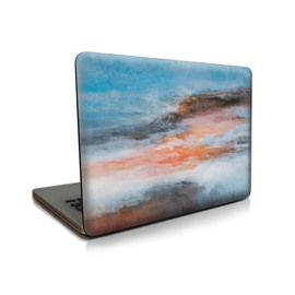 Orange Cloud Pattern Hard Plastic Cover for MacBook