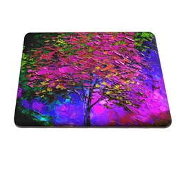 Light Purple Tree Pattern Hard Plastic Cover for MacBook