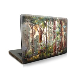 Oil Forest Pattern Hard Plastic Cover for MacBook