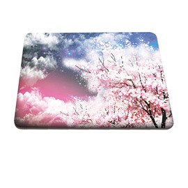 Romantic Floral Sky Pattern Hard Plastic Cover for MacBook