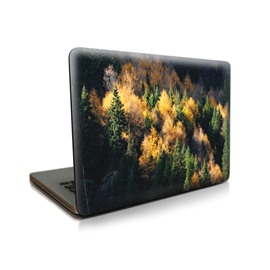 Forest View Pattern Hard Plastic Cover for MacBook