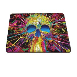Skull Abstract Color Pattern Hard Plastic Cover for MacBook
