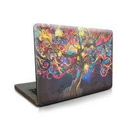 Colorful Tree Pattern Hard Plastic Cover Protective Waterproof for MacBook