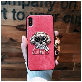 Super Cute Dog Design Protective Phone Case for iPhone
