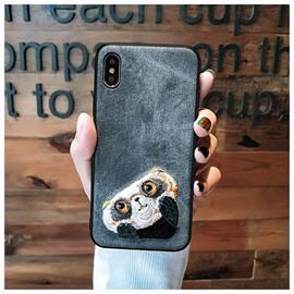Super Cute Panda Design Protective Phone Case for iPhone
