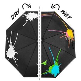 Creative Design Color-changing Folded Personal Umbrella