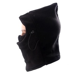 Cold Weather Motorcycle Neck Warm Fleece Balaclava Face Mask