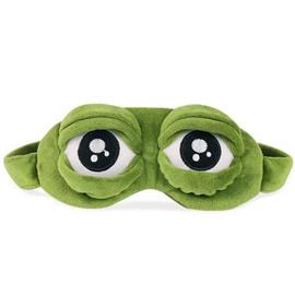 Funny Frog Sleeping Eye-Shade Blindfold Nap Cover Eye Mask