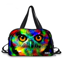 Popular Owl Pattern 3D Painted Travel Bag