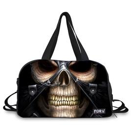 Super Cool Skull Pattern 3D Painted Travel Bag