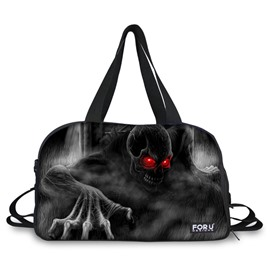 Super Skull Ghost Pattern 3D Painted Travel Bag