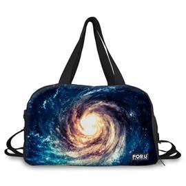 Cool Vortex Cloud Pattern 3D Painted Travel Bag