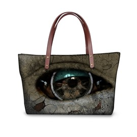 Monster Eye Waterproof 3D Printed Shoulder Handbag