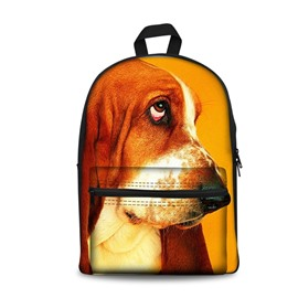 New 3D Animals Dogs Print Backpack School Bags Cool Casual Laptop Packs