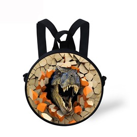 Dinosaur Roar Pattern School Bag Shoulders Backpack
