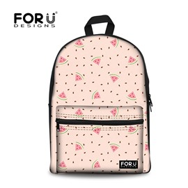 Watermelon Cartoon Cute for Child or Adults Travel Bag Outdoor 3D Printed Backpack