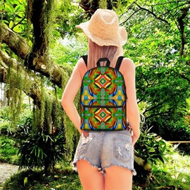 Bohemia Style 3D Pattern School Outdoor for Man&Woman Backpack