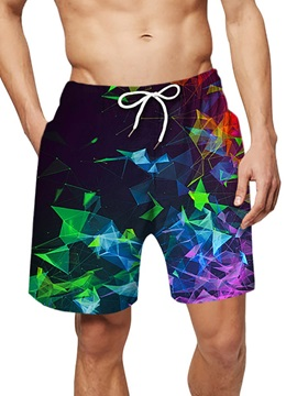Mocsone Pangolin This is How I Roll Mens 3D Printed Board Shorts Beach Shorts Swim Trunk