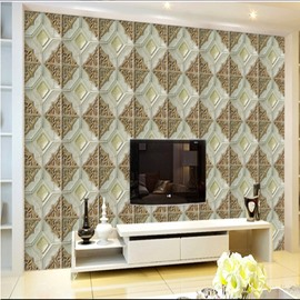 Stunning Modern Design Creative Plaid Pattern Home Decorative Wall Murals