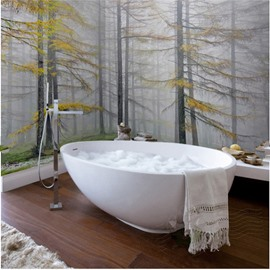Autumn Forest Scenery Pattern Design Waterproof 3D Bathroom Wall Murals
