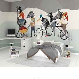 Abstract Creative Animal Pattern Design Waterproof 3D Wall Murals