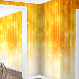 Gradient Yellow and Transparent Balls 3D Waterproof Wall Mural