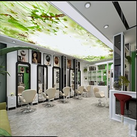 3D Cerasus Waterproof Durable and Eco-friendly Ceiling Murals
