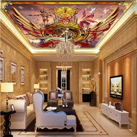 3D Ciro Marchetti Pattern Waterproof Durable and Eco-friendly Ceiling Murals