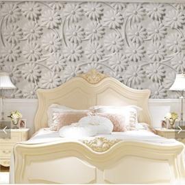 Waterproof Silk Cloth Material Mildew Resistant European Style Wall Murals
