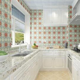 Waterproof Mildew Resistant Environmental Silk Cloth Material Bohemian Style Wall Murals