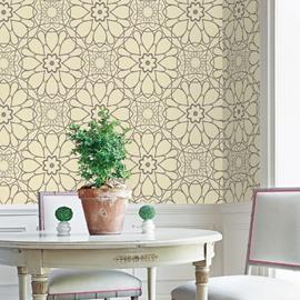 European Style Environmental Silk Cloth Material Wall Murals