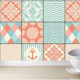 Bohemian Style Environmental Silk Cloth Material Self-Adhesive Wall Murals